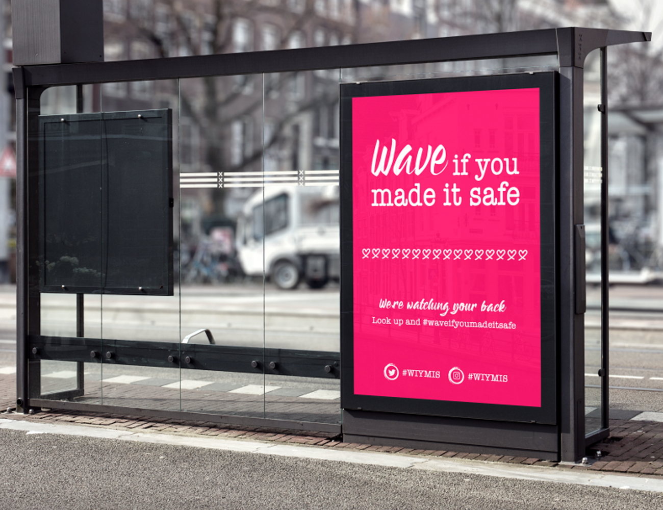 Social Experiment by A-Town Agency | Wave if you made it safe Amsterdam