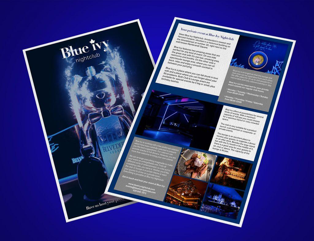 A-Town Agency - Abigael Straver | Nightlife Content Creation | B2B Brochure